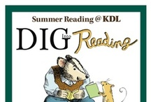 Summer Reading @ KDL / Join us June 1 through August 10 for a summer of fun activities, fabulous prizes and, of course, a lot of great reading! With separate programs for kids, teens and adults, the whole family can get in on the fun! / by Kent District Library