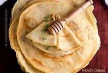 Recetas - Crêpes (Sweet & Savory), Crêpe Cakes  & Blinis