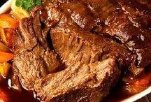 Recetas - Carne de Res / Carnes guisadas, bistecs, en rollos, lengua etc