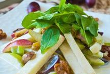 Recetas - Ensaladas...  Aderezos y Vinagretas / Deliciosas ensaladas y sus acompañantes