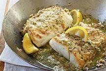 Recetas - Pescados y Frutos del Mar / Recetas preparadas con Pescados, Mariscos y Moluscos