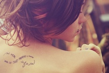 ♥ Tatoo ♥ / by Marie LUVPINK