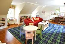 Playrooms & Kid Spaces / by Simply Organized