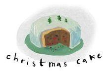 Babington's way of Christmas / Christmas cakes, cupcakes, mini cakes and other delicious edibles for the festive season.  / by Babington's Tea Rooms