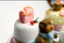 Babington's miniature cakes / Babington's miniature cakes are wonderful impulse treats, covered with sugar paste and decorated as you like best. / by Babington's Tea Rooms