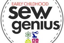 Sew Genius / Pics of all of our fabulous Sew Genius students learning STEM (Science, Technology, Engineering & Mathematics) through Sewing at our studio in Loudoun County / by Craftystitches Sewing Studio