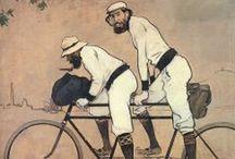 Ramón Casas (1866-1932) / Pintor nacido en Barcelona, célebre por sus retratos, caricaturas y pinturas de la élite política, económica, social e intelectual de Barcelona, Madrid y París.