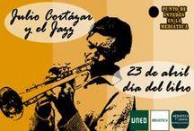 Cortázar y el jazz / Punto de interés en la Mediateca con una selección de discos de músicos que influyeron en la obra de Julio Cortázar