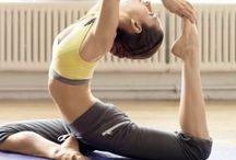 YOGA / Yoga & exercise poses, meditation & flexibility training.