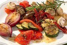 Recetas - Vegetales / Recetas donde el protagonismo esta en lo : Vegetal  (verduras, legumbres, hortalizas) y puede estar o no acompañado de otros ingredientes .......... Pueden ser platos únicos, entrantes, guarniciones, entremes etc