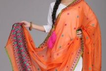 Shawls, Scarves, Stoles, and Sarees / by Jeth Gool-Tan