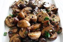 Recetas - Champiñones (Mushrooms)