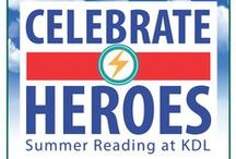 2015 Summer Programs @ KDL / It's time to start filling your calendars with great family-friendly & teen programming at your local KDL branch. It's all FREE!  / by Kent District Library