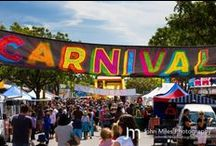 Village Street Carnival / The Annual Village Street Carnival - fun for the whole family. Havelock North, New Zealand