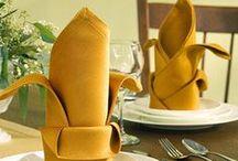 Napkin Folding / Napkin Folding