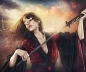 Rebeca Saray / Rebeca Saray is a young photographer and visual artist, with a unique visual style.  With a blend of style ... fantastic, glamorous, with gothic touches, with the one that transports us to your inner world