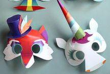 Party Masks ʕ•ᴥ•ʔ