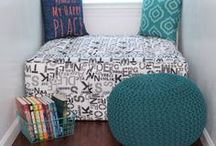 Reading Nooks / This board contains reading nook ideas and examples of reading nooks. #readingnook