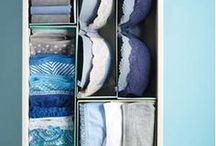 Dresser Drawer Organizing Hacks / This board holds ideas and tutorials to help tame and organize your dresser drawer.