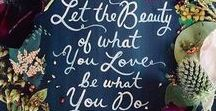 Do What Lights You Up / Inspiration to help you follow your dreams, live a life you love and find your passion.