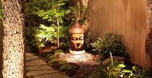Outdoor Meditation Spaces / Beautiful, calm, outdoor sanctuaries to practice meditation and yoga in.