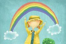 Arc en ciel / Arc en ciel pour grands enfants