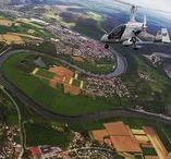 Luftbildaufnahmen/ Aerial photography / Luftbildaufnahmen aus der Region Neckar Odenwald Bergstrasse (Heidelberg, Mosbach, Sinsheim, Hockenheim, Wiesloch, Bad-Rappenau, Heilbronn, Neckargemünd, Bad Wimpfen, Leimen, Hirschhorn, Schwetzingen, Mannheim, Schriesheim, usw