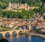 Heidelberg / Luftbildaufnahmen von Heidelberg, Baden Württemberg, Germany