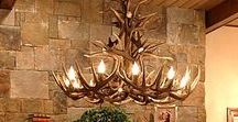Antler/Home Decor / Use elk antler to make your home or office beautiful!