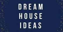 Dream House Ideas / Planning on building your dream house?  This is my collection of layouts, floor plans, design ideas, and inspiration to get it done.