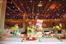 Wedding Table Ideas / by Wendy Meyer Kalwaitis