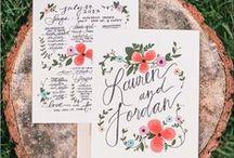 Wedding Invitations_Stationary_Typography / by Wendy Meyer Kalwaitis