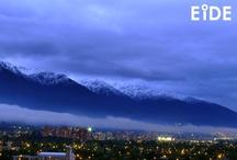 EIDE en Santiago / Vistas de Santiago de Chile.