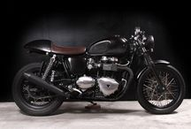 Vintage Cafe Racer Motorcycles / by Tyler Anderson
