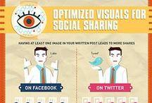 Social Media Infographics / #Infographics #Infografica #Facebook #Twitter #Pinterest #Linkedin #Foursquare #Google+ #FFSocial #Social