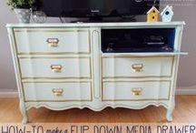 Furniture Facelift / furniture projects / by Heather Bilinski