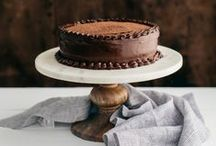 food: cakes and desserts