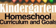 { Homeschool : Kindergarten } / homeschool kindergarten