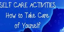 self care / Self-care activities for your self-therapy.