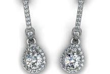 Kolczyki || Earrings / Kolczyki z diamentami, szafirami, szmaragdami. Żółte złoto, białe zloto i platyna. || Earrings with diamonds, sapphires, emeralds. Yellow gold, white gold and platinium. #earrings