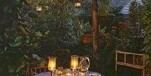Kloostertuin / Onze mooie grote groene tuin heeft nood aan decoratie en inrichting