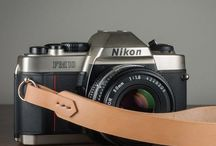 Handmade Leather Camera Straps / Leather camera straps that are American made, handcrafted, beautiful, strong, and comfortable.