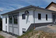 Gebaute Spektral-Häuser / Hier findet Ihr Fotos unserer gebauten Spektral-Häuser.  #spektralhaus #ingutenwänden #massivhaus #steinmassivhaus #steinhaus #neubau #eigenheim #hausbau #unseregebautenspektralhäuser