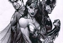 Batman & Superman & Wonderwoman
