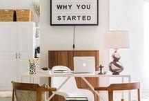 Office inspiration / home office inspiration, home office decor