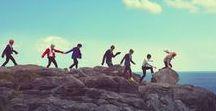 BTS / Jin, Suga, J-Hope, RM, Jimin, V, Jungkook
