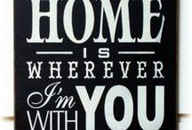 home sweet home / Cool ideas and products for your home! / by Wheatpaste Art Collective