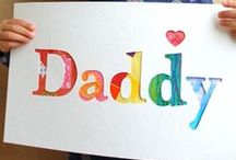 Fathers day / Fathers day crafts decor and gifts / by Goofball Mommy