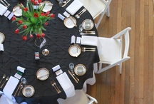 Pitch Black / Whether it is a corporate event, a wedding or a small gathering- it should be beautiful! Check out all of these event ideas, we will rent you the products to create these dream looks! If we can't we will direct you the person who can!    www.eventsource.net