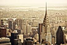 _ New York, New York 1 / Querida Nueva York, espérame! / by Carmen Fraga